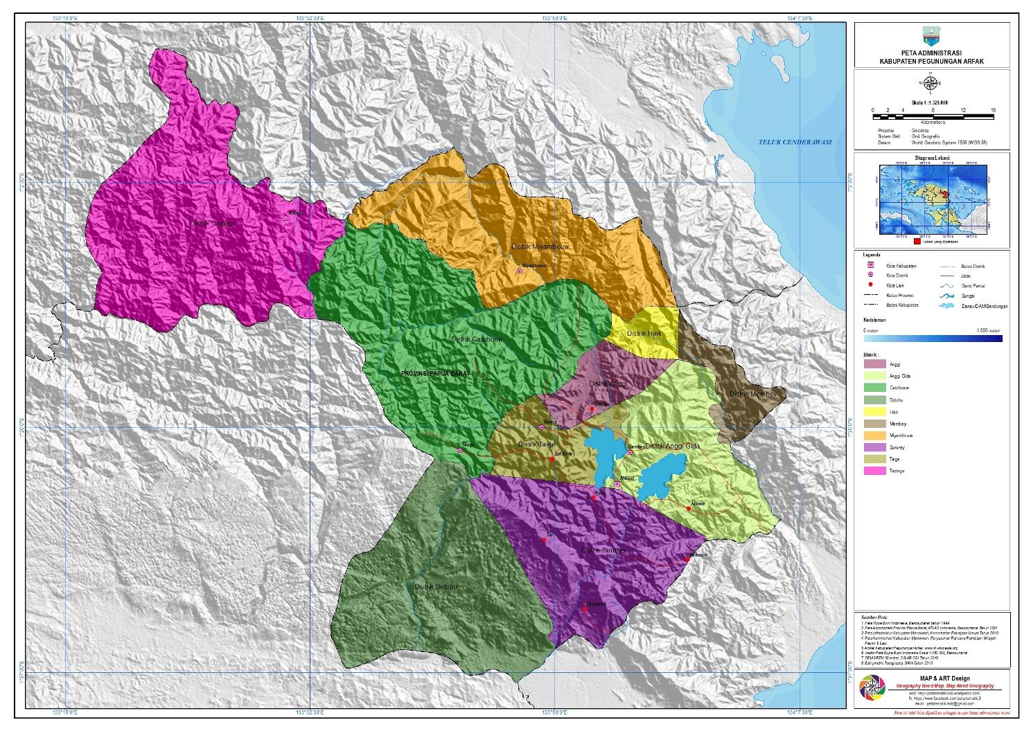 adminsitrasi-pegunungan-arfak